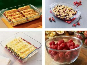 Pyrex Glass Casseroles & Bakeware